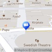 Map Akateeminen Kirjakauppa Helsinki, Finland