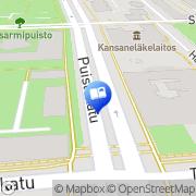 Kartta Kirjatori Kuopio, Suomi
