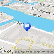Kaart Eland Antiquariaat Alkmaar, Nederland