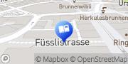 Karte Orell Füssli ZH Kramhof & Bookshop Zürich, Schweiz