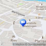 Karte Antiquariat der Nöck Waiblingen, Deutschland