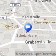Karte Fehr Buchhandlung Rommelshausen, Deutschland
