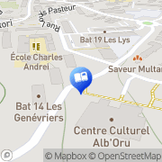 Carte de Librairie Aurore Bastia, France