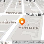 Map Cafe La Brea Los Angeles, United States