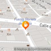 Map Café Comercial Madrid, Spain