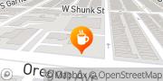 Map Dunkin' Philadelphia, United States