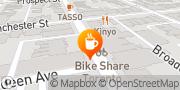 Map Jet Fuel Coffee Toronto, Canada