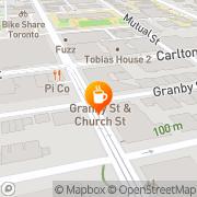 Map bulldog coffee Toronto, Canada
