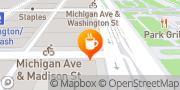 Map Panera Bread Chicago, United States