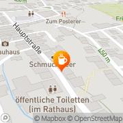 Karte Cafe Baumgärtel,Inh.Inge Zimmermann Windischeschenbach, Deutschland