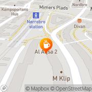 Kort Abbas Yalmad Junex København, Danmark