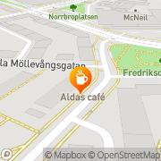 Karta Aldas Konditori & Kafe Helsingborg, Sverige
