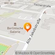 Karte café Dix Berlin, Deutschland