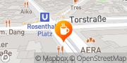 Map St. Oberholz Berlin, Germany