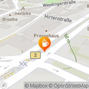 Karte Dunkin Donuts Berlin, Deutschland