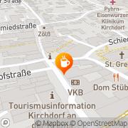 Karte Cafe-Konditorei-Confiserie Inh Johannes Bachhalm Kirchdorf an der Krems, Österreich