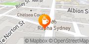 Map Caffè Bartolo Surry Hills, Australia