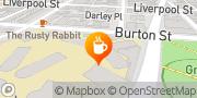 Map Rumpus Room Cafe Darlinghurst, Australia