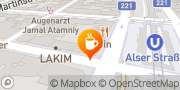 Karte Caffe Latte Wien, Österreich