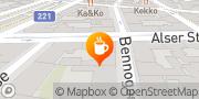Karte Cafe Benno Wien, Österreich