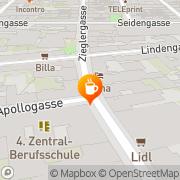 Karte Cafe Tobmann Wien, Österreich