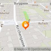 Karte Stil Cafe Konditorei Wien, Österreich