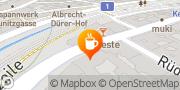 Karte Cafe Rüdigerhof Wien, Österreich