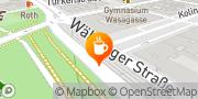 Karte Cafe Stein Wien, Österreich