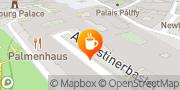 Karte Cafe-Restaurant Palmenhaus Wien, Österreich
