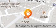 Karte Cafe-Restaurant Korb Wien, Österreich