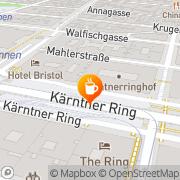 Karte Segafredo Wien, Österreich