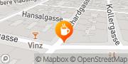 Karte Schwarzes Cafe Wien, Österreich