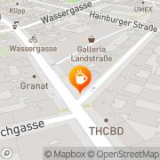 Karte Cafe Haller Wien, Österreich