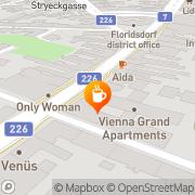 Karte Cafe Monte Carlo Wien, Österreich