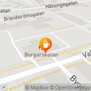 Karta Borgis Cafeteriaförening Gävle, Sverige