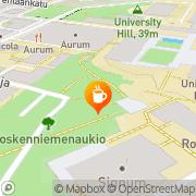 Kartta Parkkis Turku, Suomi