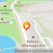 Kartta Mini-Market Merikanto Helsinki, Suomi