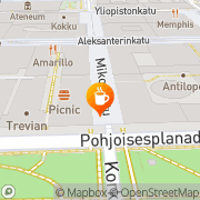 Kartta Opteam Cafe Oy Helsinki, Suomi