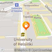 Kartta UniCafe Oy Ab / Stobelia Helsinki, Suomi