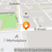 Kartta Mirja Surmeli toiminimi Kuopio, Suomi
