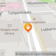 Kartta Kirjastokahvila Leena Heikkinen Kuopio, Suomi