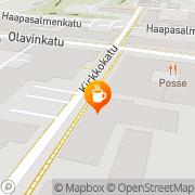 Kartta Kahvila Leivintupa Savonlinna, Suomi