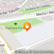 Map Erzurum Çay Evi Istanbul, Turkey