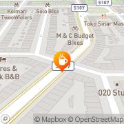 Kaart Magpie The Amsterdam, Nederland