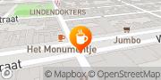 Kaart Blaffende Vis Café De Amsterdam, Nederland
