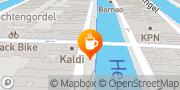 Kaart Kaldi Koffie & Thee Amsterdam Amsterdam, Nederland