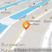 Kaart Barones De Amsterdam, Nederland