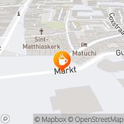 Kaart Trait d' Union Eetcafé Le Maastricht, Nederland