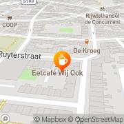 Kaart Ketama Koffieshop Nijmegen, Nederland