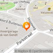 Kaart Rastafari-Theehuis Klein Maar Fijn Venlo, Nederland